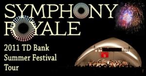 Vermont Symphony 2011 Summer Tour Banner