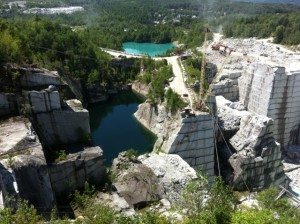 Rock of Ages Quarry Barre Vermont, near West Hill House B&B