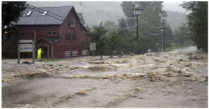 Irene's Destruction in the Mad River Valley 1
