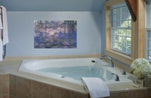 The Logan Suite Master Bathroom at West Hill House