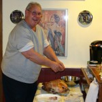 Jerry Carving the Turkey