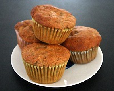 Freshly made muffins