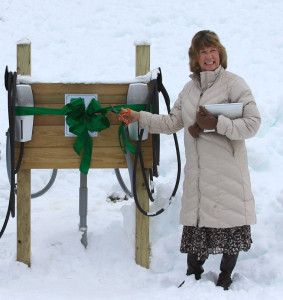 Ribbon Cutting by Megan Smith