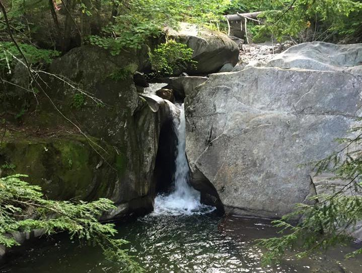 Vermont Hiking Trails - a secret waterfall