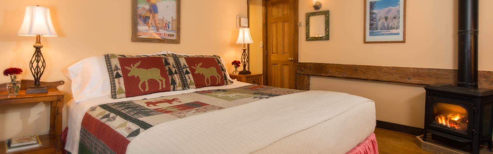 Nine unique guest rooms