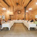 Meeting in Barn