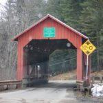 Upper Cox Brook Road covered bridge