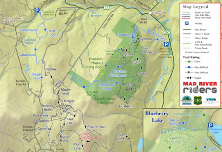 mad river riders trail map