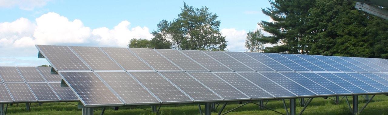 Solar Array in Poultney Vermont - header